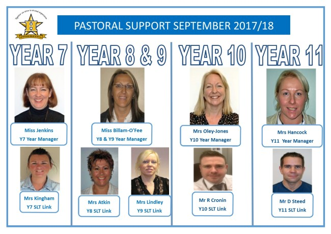 New Pastoral Poster for 2016-2017